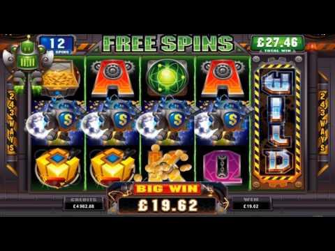 Win 50 FREE SPINS on RoboJack Slot