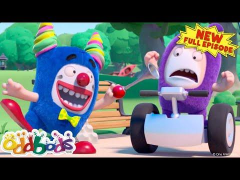 Oddbods Clowning Around | NEW Full EPISODE COMPILATION | Cartoons For Kids