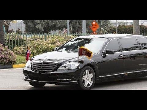 IM MERCEDES DURCH SINGAPUR: Kim Jong-un genießt seine ...