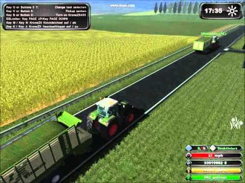 farming simulator 2011 MP gras oprapen