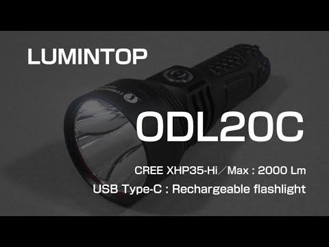 LUMINTOP ODL20C / CREE XHP35-Hi (CW) : review