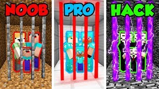 Video Minecraft NOOB vs. PRO. vs. HACKER: FAMILY PRISON CHALLENGE in Minecraft! (Animation) MP3, 3GP, MP4, WEBM, AVI, FLV Juni 2019