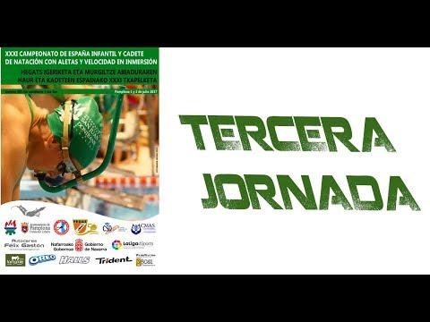 3. Jornada Cto. España Infantil y Cadete de Natación con Aletas y Velocidad en Inmersión
