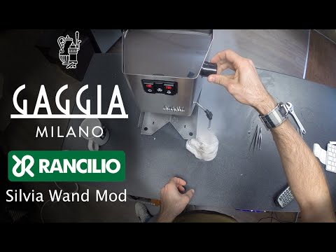 How to: New Gaggia Classic 2015 Mod with Rancilio Silvia Wand