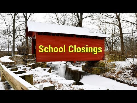 School Closings || Winter weather brings delays and closings to the D.C. region