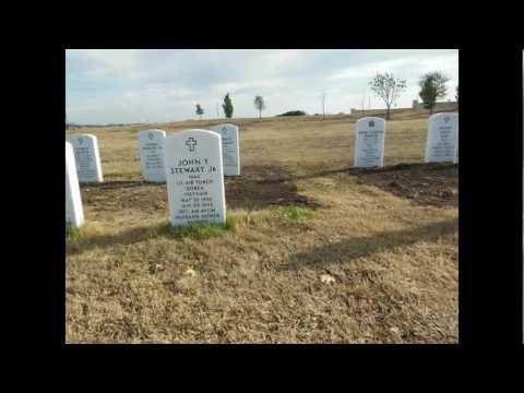Texas State Veterans Cemetery, Killeen Texas.