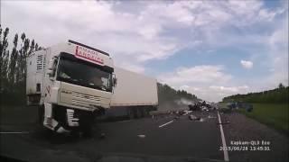 O krok od tragedii! Tak się właśnie kończy szybka jazda na autostradzie – Polska!