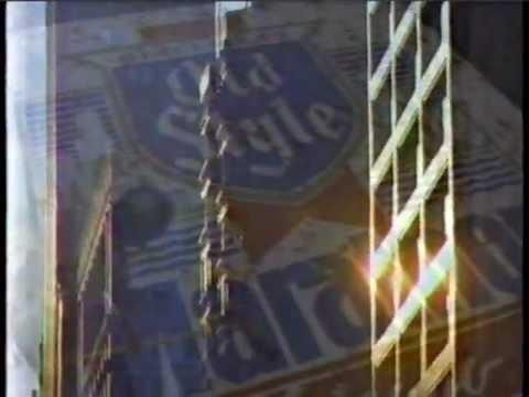 OLD STYLE beer TV ad @ 1988 CHICAGO MARATHON – when they were the sponsors