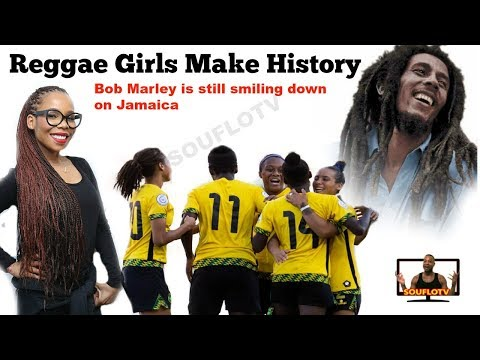 Jamaica Reggae Girls Make history with Bob marleys daughter