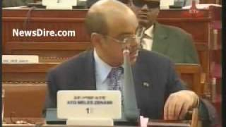 Ethiopian News - PM Meles Zenawi Addressing the Parliament on Inflation