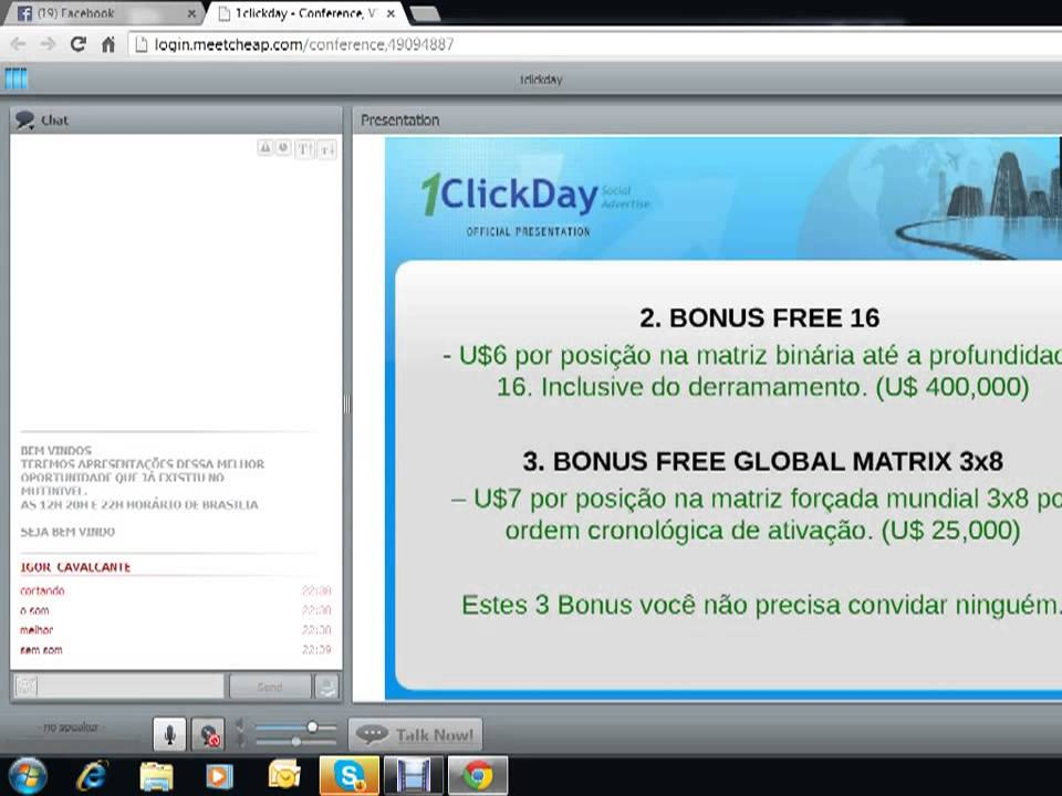 1CLICKDAY - Marketing Multinivel - Apresentação Completa