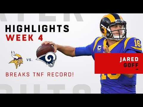 Video: Jared Goff Shatters TNF Passing Record w/ 465 Yards & 5 TDs!