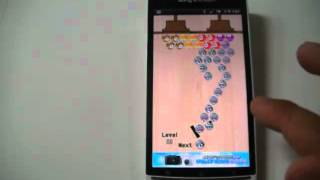 Bubble shooter game YouTube video