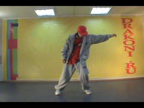 Урок хип-хоп от танцевальной школы Драконы - 2