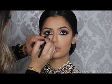 Video Indian | Bollywood |South Asian Bridal Makeup | Start to Finish | BEAUTY BY KIRAN GILL download in MP3, 3GP, MP4, WEBM, AVI, FLV January 2017
