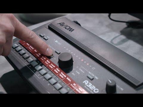 Aviom presents the new A320 Personal Mixer