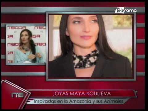 Joyas Maya Koulieva inspiradas en la Amazonía y sus animales