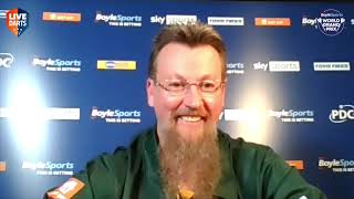 """Dave Chisnall on comeback vs Joe Cullen: """"Someone up there is saying this could be your first major"""""""