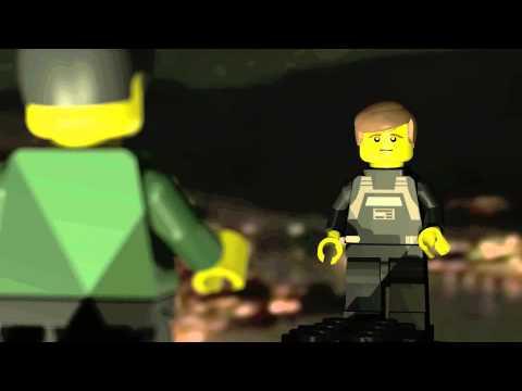 LEGO Movie Tron ENCOM Tower