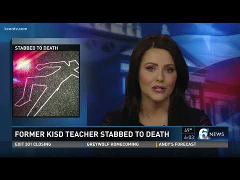 Former KiSD teacher stabbed to death