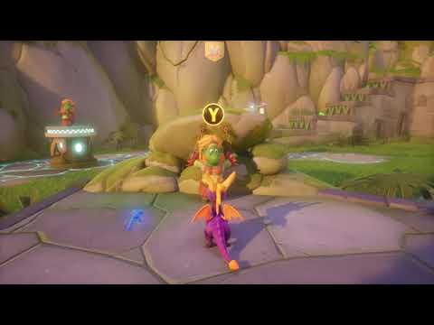 Idol Springs (niveau Spyro 2) de Spyro Reignited Trilogy