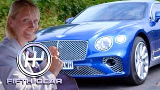 Vicki Reviews the Bentley Continental GT | Fifth Gear by Fifth Gear