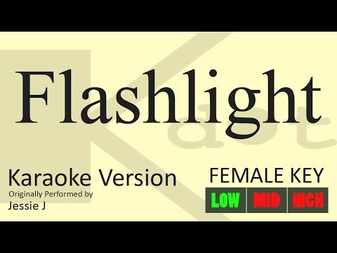Jessie J - Flashlight Karaoke (Female Key | Low)
