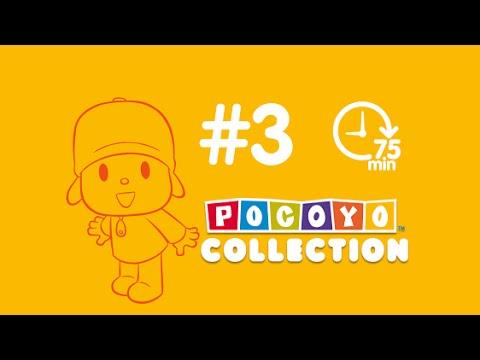 Pocoyo - 90 min. of cartoon for kids   complete episodes PART 3