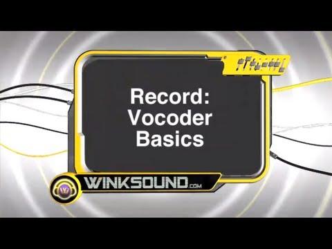 Propellerhead Record: Vocoder Basics | WinkSound
