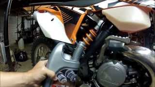 10. KTM gear oil change