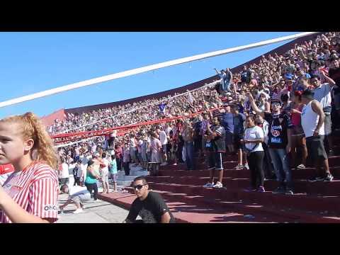 #bnacional.. recibimiento del club atletico los andes - La Banda Descontrolada - Los Andes