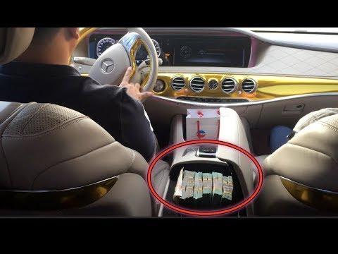 """Đi Dạo Cùng Phúc XO Và """"Choáng Váng"""" Khi Thấy Cục Tiền 500 Triệu Trong Xe Mercedes Maybach - Thời lượng: 11 phút."""