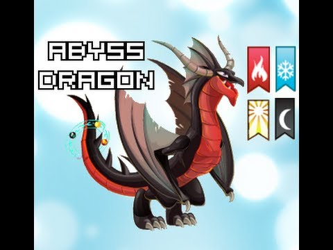 Dragon City - Abyss Dragon (4 elements dragon)