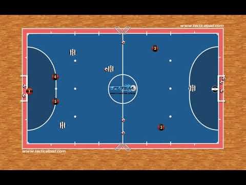 15) Futebol americano adaptado para o Futsal