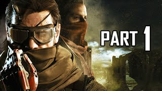 Metal Gear Solid V: The Phantom Pain Gameplay Walkthrough Part 1 - First 3.5 Hours! (MGSV PS4 Let's Play Gameplay...