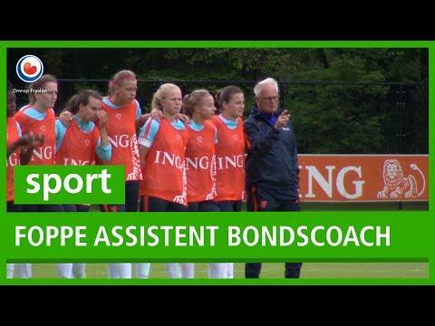 Foppe de Haan assistent-bondscoach Oranjevrouwen