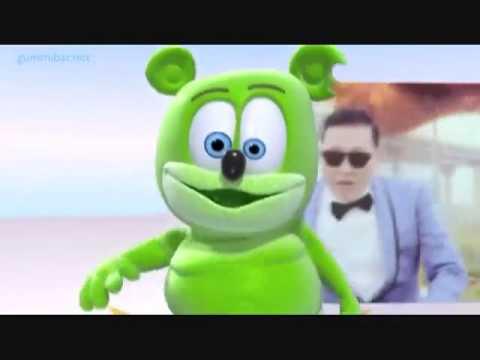 Nhạc cực vui nhộn cho bé - Gangnam Style Gummy Bear