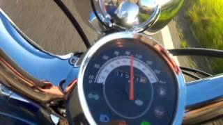 10. aprilia mojito 125 custom acceleration