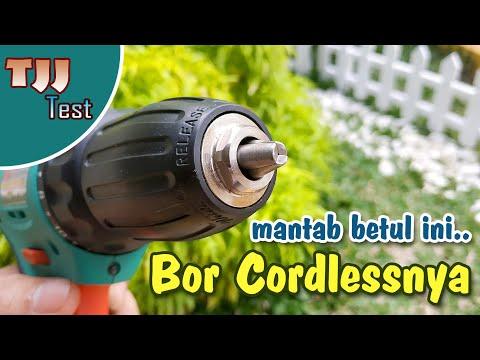 Mantab betul ini, nyobain cordless drill DCA ADJZ10-10B