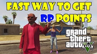 """GTA 5 Online - Fast Way To Get RP Points """"Fast Way To Level"""" (GTA V)"""
