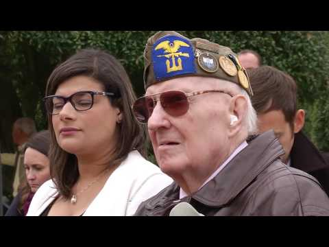 The Deputy Commander of EUCOM, Lt. Gen. William Garrett paid tribute to the fallen at a Memorial Day Ceremony in Normandy, France. Staff Sgt. John Archiquette has the story.