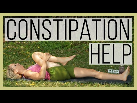 Constipation Relief - Yoga Help
