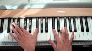 "How to Play ""Dynamite"" by Taio Cruz on the Piano"