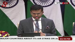 One Pakistan Air Force fighter aircraft shot down by Indian Air Force - MEA