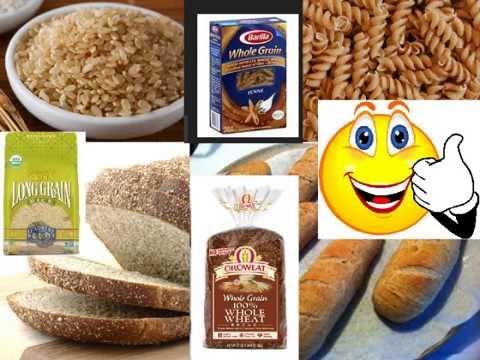 Whole Grains vs  Refined Grains