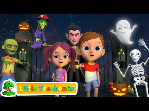 Its Halloween Night | Fun Halloween Kids Cartoon | Kindergarten Nursery Rhymes by Little Treehouse