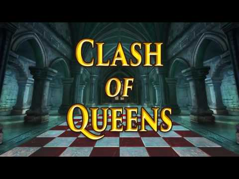 Clash of Queens Video Slot Game - Teaser