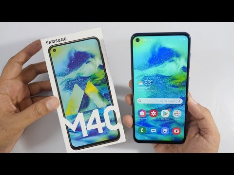 Samsung Galaxy M40 Unboxing & Overview