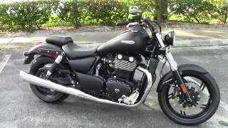 1. 2012 Triumph Thunderbird Storm - Quick Review