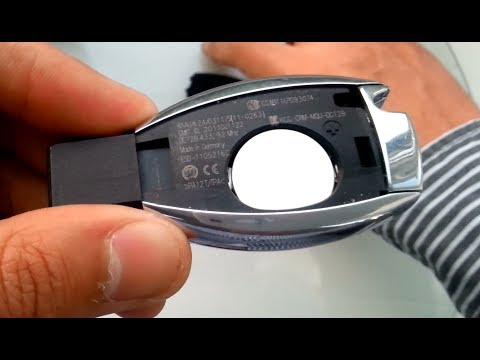 Mercedes Benz Key Battery Change Replacement